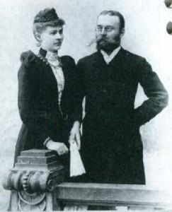 Alexander und Marie Stuttmann (1890)