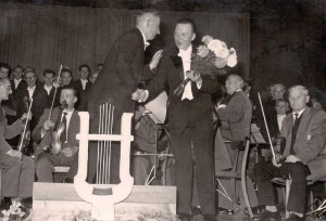 Heinrich Wintermeyer & Chordirektor Karl Dieter