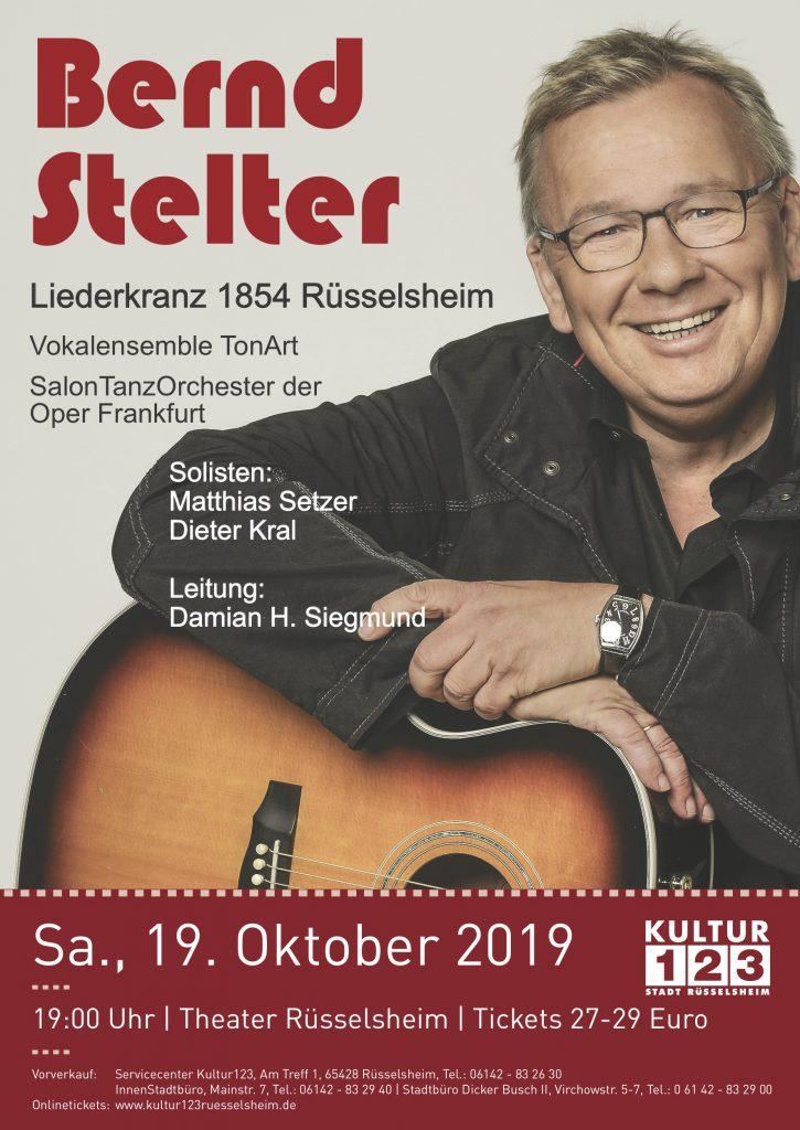 Liederkranz 1855 Rüsselsheim und Bernd Stelter - Beitragsbild